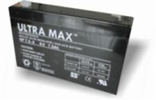ULTRAMAX 6V 7.5ah/7ah Battery - Toy Car, Peg Perego Injusa Feber