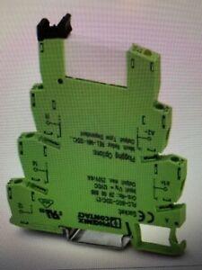 "Phoenix Contact PLC-RSC-120UC/21 Relays 2966197 SPDT 120VAC coil ""Box of 10"""