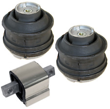 Engine Motor Mount Hydraulic & Transmission Mount Set 3pcs for Mercedes-Benz