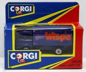 Corgi Juniors 90040 Iveco Box Truck Wispa MIB 1992 Street Life in Miniature