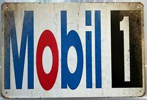MOBILEGAS  Garage Rustic Look Vintage Tin Signs Man Cave, Shed & Bar SIGN
