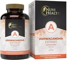 Ashwagandha KSM-66 Extrakt® - 100 Kapseln - 1200mg pro Tag + Piperin Withanolide