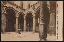 AX0347 Firenze - Palazzo Vecchio - Cartolina postale - Postcard