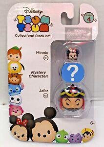 Disney~ Tsum Tsum ~Series 4 ~MINNIE,JAFAR,MYSTERY~3-Pack