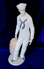 Lladro On Shore Leave #6654 The Navy Brand New In Box Sailor Uniform Save$ F/Sh