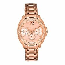 NEW Michael Kors Women's Cameron Rose Gold Bracelet Glitz Watch - MK5692 $275