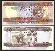 SOLOMON ISLANDS 20 Dollars 2011 UNC P 28 b