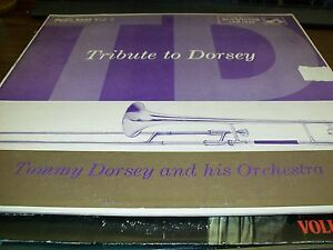 Tommy Dorsey-Tribute Dorsey-Vol. 2-LP-RCA Victor-LPM 1433-Vinyl Record-VG+