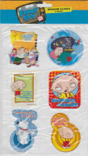 FAMILY GUY WINDOW CLINGS SET Peter Brian Stewie Griffin TV Show Auto Car Glass
