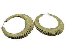 10KT Yellow Gold Hoop Earrings 13.95gms