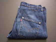 Levi's tipo 3 Twisted Engineered jeans W30 L34 Blu Medio Strauss Lev V623 #