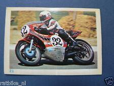 VDH8-021 STEVE BAKER YAMAHA OW-31 750CC MOTO GP PICTURE STAMP ALBUM CARD,