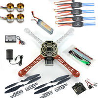 JMT RC Quadcopter Drone Kit No TX RX : KK Flight Control F450 Flamewheel