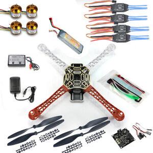 JMT RC Quadcopter Drone Kit No TX RX : KK Flight Control F450 Flamewheel