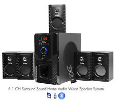 FS5000BT Bluetooth Home Theater 800 Watt Surround Sound 5.1 Speaker System