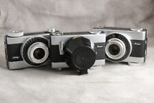 THREE Ricoh Auto Shot Spring Drive Cameras, AS-IS