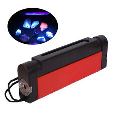 DUAL UV Ultraviolet Long & Shortwave Lamp with filter: tagged stamps, minerals