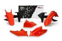 KTM EXC EXCF XCW 17-19  OEM ORANGE RACETECH PLASTIC KIT ENDURO MOTOCROSS