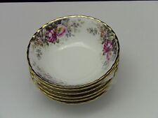 Royal Albert China (1981) AUTUMN ROSES 6 All Purpose Cereal Bowls (b)