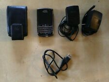 BlackBerry Tour Black Pre-owned Smartphone w/2 Chargers, Case & USB GOOD Shape