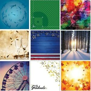 """132 Scrapbook Papers VARIETY Reminisce double-sided 12x12"""" cardstock U-CHOOSE"""