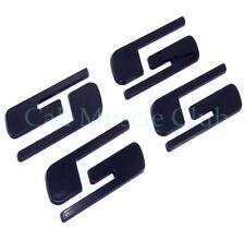"""""""SS"""" Emblem 2003-2006 Chevrolet Silverado SS Door Tailgate Black Custom 2 set"""
