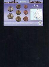 Italy Euro Coin Set