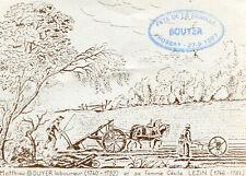 FROSSAY Fête de la Famille BOUYER en 1987 Illustré Matthieu laboureur et Cécile