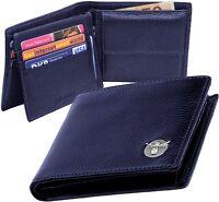 Chiemsee Herren-Portemonnaie Blau/Blue Wallet Purse Geldbörse Leder Brieftasche
