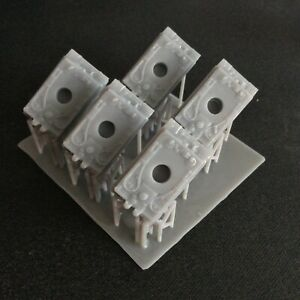 Pack of 5 Tiger I   Resin 1:285 Scale For Micro Armour