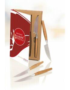 Brandani set 4 coltelli bistecca