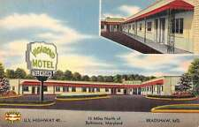 Bradshaw Maryland Vagabond Motel Linen Antique Postcard J45568