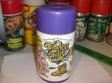 Timeless Tales`1989`From Hallmark Cards`Plastic Lunch Box-Thermos-: Free To US
