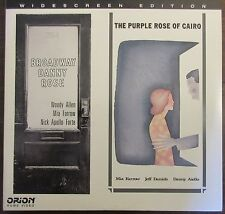 Woody Allen Double-Feature: Broadway Danny Rose / Purple Rose.. - USA Laserdisc