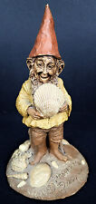 Pawley Vtg Gemini 84 Wood Spirit Beach Gnome Sea Shell Cairn Retired Tom Clark