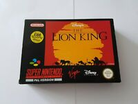 Disney's The Lion King - Super Nintendo SNES Game [PAL UKV] CIB