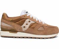 Saucony Men's Shadow Original Vintage Shoes S70424-6 Brown | Tan Brand New!