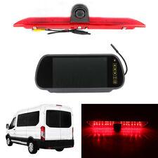 """7"""" Rear View Monitor + LED Brake Light Reversing Camera Kit For Ford Transit"""