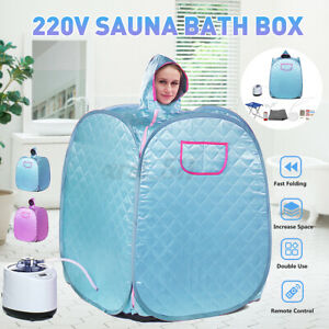 2L Sauna Steam Tent Steamer Skin Body Spa Indoor Loss Weight Slim Detox  *n