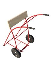 Boat Motor Cart Plans DIY Outboard Engine Stand Carrier Dolly Trolling Storage