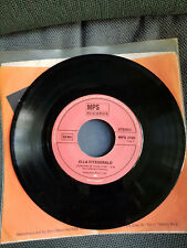 Ella Fitzgerald-Hey Jude; sunshine of your love,7inch,1969 1st press,vg+,Beatles