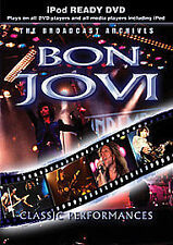 BON JOVI CLASSIC PERFORMANCES - iPod READY DVD UK ORIGINAL SEALED FAST P&P