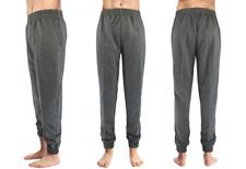 New Performance Sports Men'S Soft Fleece Jogger Lounge Pants Dark Gray Sz Xl