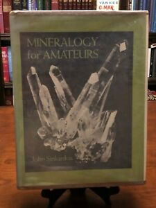MINERALOGY FOR AMATEURS by John Sinkankas (1964 - HARDCOVER) GOOD+ Cond - RARE