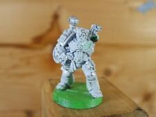 CLASSIC METAL WARHAMMER SPACE MARINE APOTHECARY PAINTED (1665)