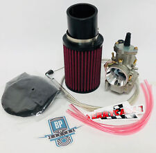 86-89 TRX250R TRX 250R Fourtrax 38mm Carb Complete Carburetor Kit Filter Cable
