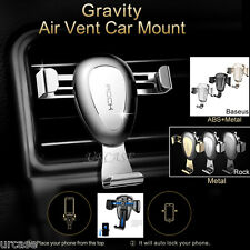 Universal Car Air Vent Mount Phone Gravity Holder Fr iPhone GPS Galaxy Note 8 S8