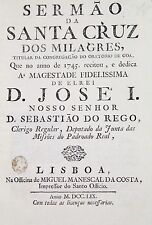 1759 Rare Satirical Sermon Goan author Portuguese East Indies Goa Conversion