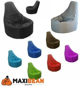 Bean Bag Gaming Chair Gamer Beanbag Indoor & Outdoor Garden Big Arm Chair Large