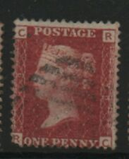 GB 1858-79 Penny Red SG43 Plate number 79 RC good used stamp